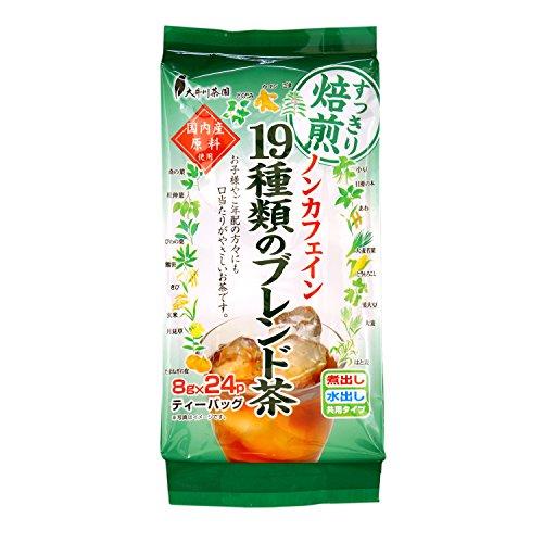 大井川茶園 国内産ノンカフェイン 19種類のブレンド茶 8g...