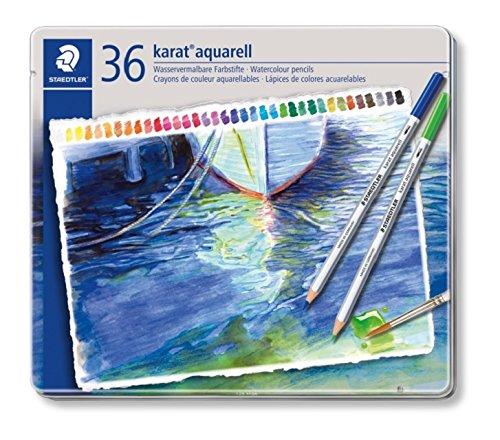 ステッドラー カラトアクェレル水彩色鉛筆 36色セット