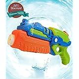 AsToy 水鉄砲 強力 ウォーターガン 最大飛距離10m 夏休み 水遊び 水てっぽう 海の日 プール お風呂 おもちゃ 季節用品