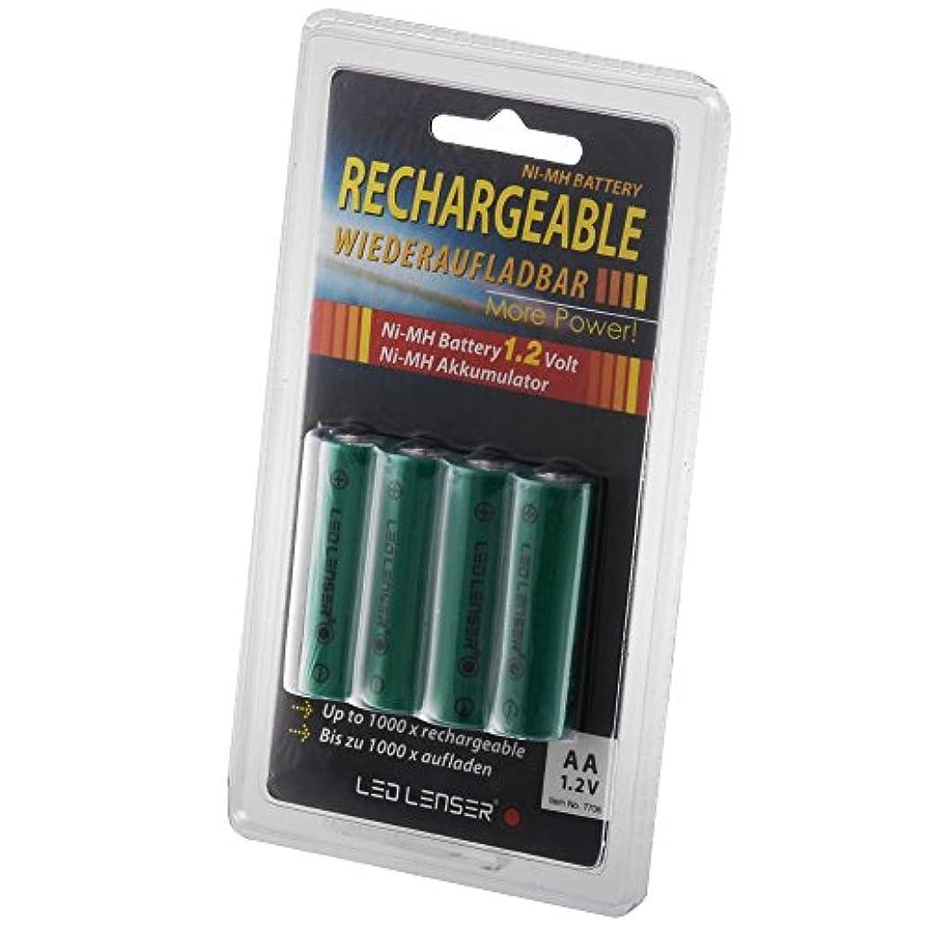 掃除スキッパー出身地Ledlenser(レッドレンザー) 専用ニッケル水素充電池単3形4本セット [日本正規品] 7706