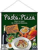 ☆タペストリー 64619 両面 Pasta&Pizza