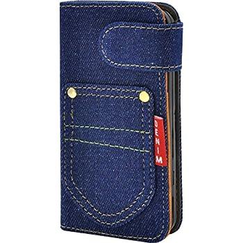 d04d5089fc PLATA iPhone SE / 5s / 5 ケース 手帳型 デニム スタンド ポーチ カバー アイフォン iPhone5