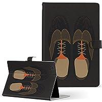 igcase KYT33 Qua tab QZ10 キュアタブ quatabqz10 手帳型 タブレットケース カバー レザー フリップ ダイアリー 二つ折り 革 直接貼り付けタイプ 010318 おしゃれ ファッション 靴