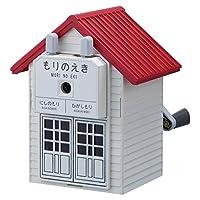 カール事務器 手動鉛筆削器 もりのえき レッド  CMS-200-R