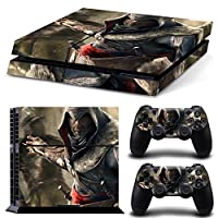 FriendlyTomato PS4専用 Skin プレイステーション4用スキンシール - Assasin Videogame - PlayStation 4 Vinyl