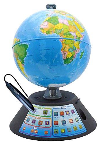 ドウシシャ しゃべる地球儀 パーフェクトグローブ GEOPEDIA ジオペディア