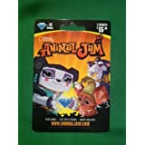 National Geographic Animal Jam Online Game Card - 10 Diamonds - 3 Month Membership - Kangaroo, Arctic Wolf, Snow Leopard or Lion by National Geographic [並行輸入品]