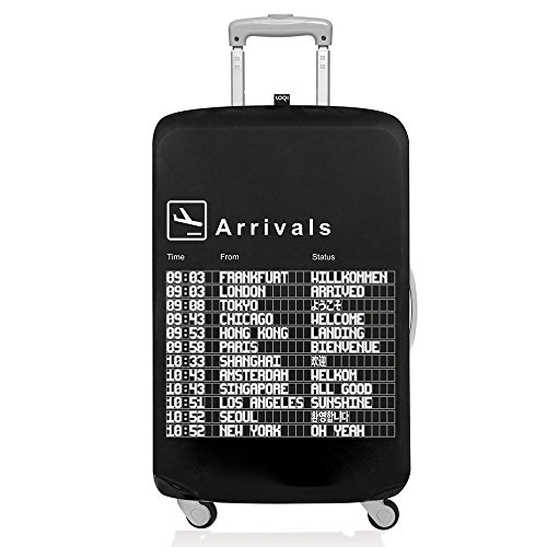 [해외](로우 키) LOQI 가방 커버 AIRPORTArrivalsL 크기/(Low Key) LOQI Suitcase Cover AIRPORTArrivalsL Size