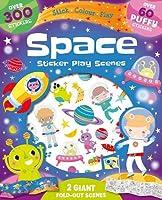 Space: Sticker Play Scenes (Fold Out Foam Stickers)