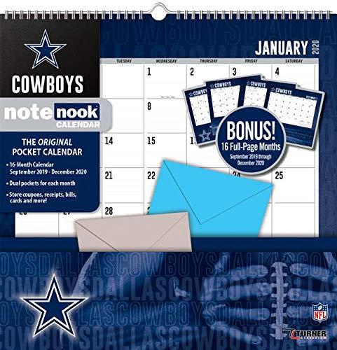Dallas Cowboys 2020 Calendar