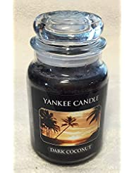 ダークCoconut Yankee Candle Large Jar 22oz Candle