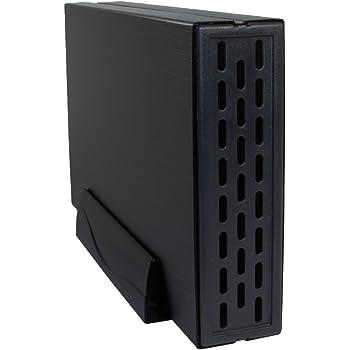 オウルテック 3.5インチHDD 外付けケース USB3.0 ファンレス スタンド付 ブラック OWL-ESL35U3S2-BK