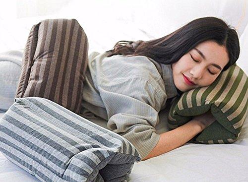 Somnus258 縞 昼寝 枕 机 う...