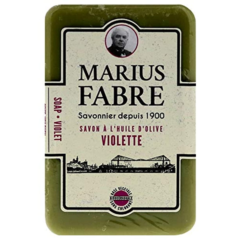 ラベル休憩ファームサボンドマルセイユ 1900 バイオレット 250g