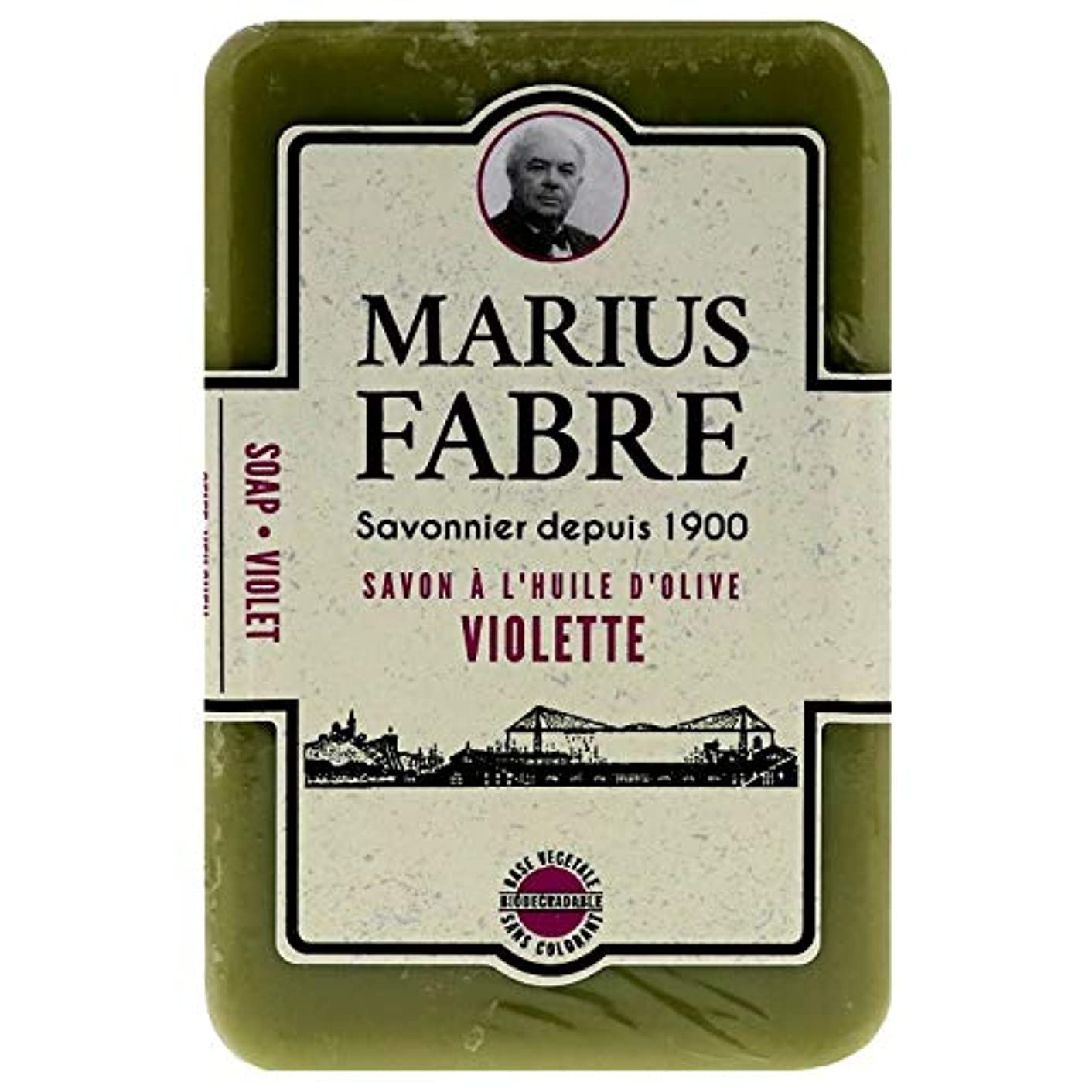 どうやって集中肩をすくめるサボンドマルセイユ 1900 バイオレット 250g
