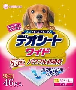 デオシート ワイド 46枚×4個入り (ケース販売)