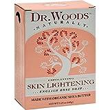 Dr. Woods, English Rose Soap, Skin Lightening, 5.25 oz (149 g)