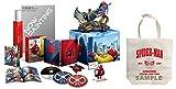 【Amazon.co.jp限定】スパイダーマン:ホームカミング プレミアムBOX(2D+3D+4K ULTRA HDブルーレイ)(村田雄介描き下ろし 日本限定B3ポスター封入)(初回生産限定)(オリジナルトートバッグ付) [Blu-ray]