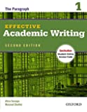 Effective Academic Writing: The Paragraph, Level 1 (Effective Academic Writing Second Edition)