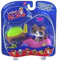 Littlest Pet Shop Portable Pets Speedy Boxcar Dog by Hasbro by Hasbro