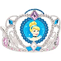 [Amscan]Amscan Cinderella Disney Princess Birthday Party Electroplated Tiara Wearable Accessory Supply , Multi Color, 3 1/2 x 4 1/2. [並行輸入品]