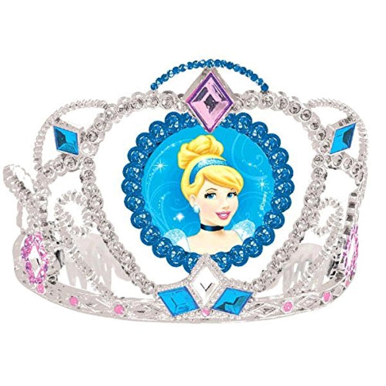 [Amscan]Amscan Cinderella Disney Princess Birthday Party Electroplated Tiara Wearable Accessory Supply , Multi Color, 3 1/2 x 4 1/2. [並行輸入品]