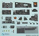 クインタスタジオ 1/48 F-4J 内装3Dデカール (造形村用) プラモデル用デカール QNTD48055