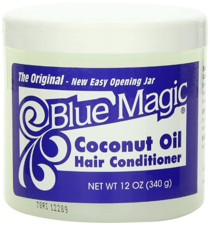 ボイド驚かす服Blue Magic Coconut Oil Hair Conditioner Case by DDI