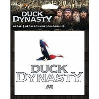 Duck Dynasty Flag Stars and Stripesステッカートラック/車/ATV/自動バックウィンドウフラグデカールA & E