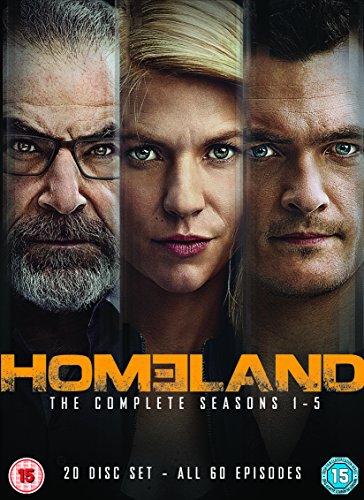Homeland - Season 1-5 [DVD] [Import]
