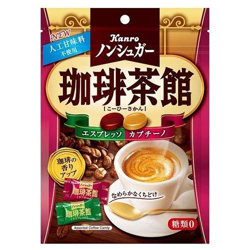 カンロ ノンシュガー珈琲茶館 72g×6袋