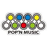 pop´n music pop´n music 耐水ステッカー