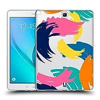 Head Case Designs ブライト Abstract Strokes Samsung Galaxy Tab A 9.7 専用ソフトジェルケース