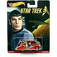 DECO DELIVERY * Star Trek / Commander Spock * Hot Wheels 2015 Pop Culture Star Trek 50th Anniversary Series Die-Cast Vehicle [並行輸入品]
