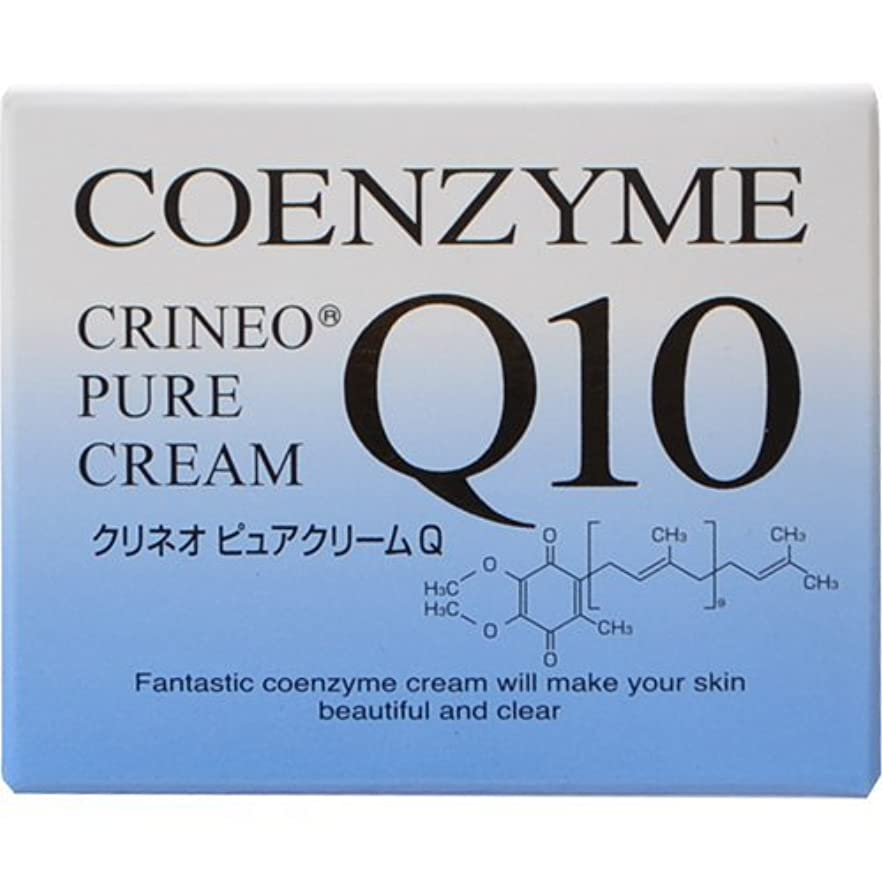 リボンハング進むクリネオ ピュアクリームQ コエンザイムQ10を配合した浸透型の保湿クリーム