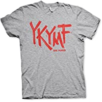 Die Hard Officially Licensed YKYMF Mens T-Shirt (Heather-Grey)
