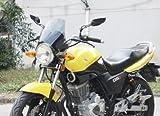 【MINAKIKO】 汎用 バイク 用 スクリーン カウル メーター バイザー スモーク 風防 スクリーンカウル