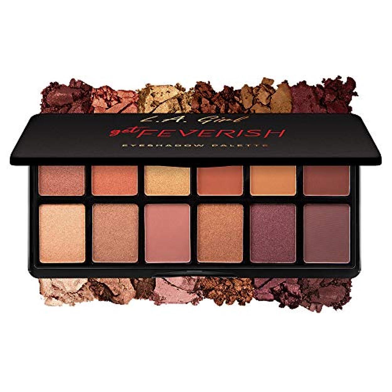 グレード説得力のある美容師L.A. GIRL Fanatic Eyeshadow Palette - Get Feverish (並行輸入品)