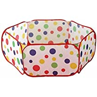 子供用 折りたたみ ボール プール / ベビー サークル 水玉 150cm 専用 収納袋 付き