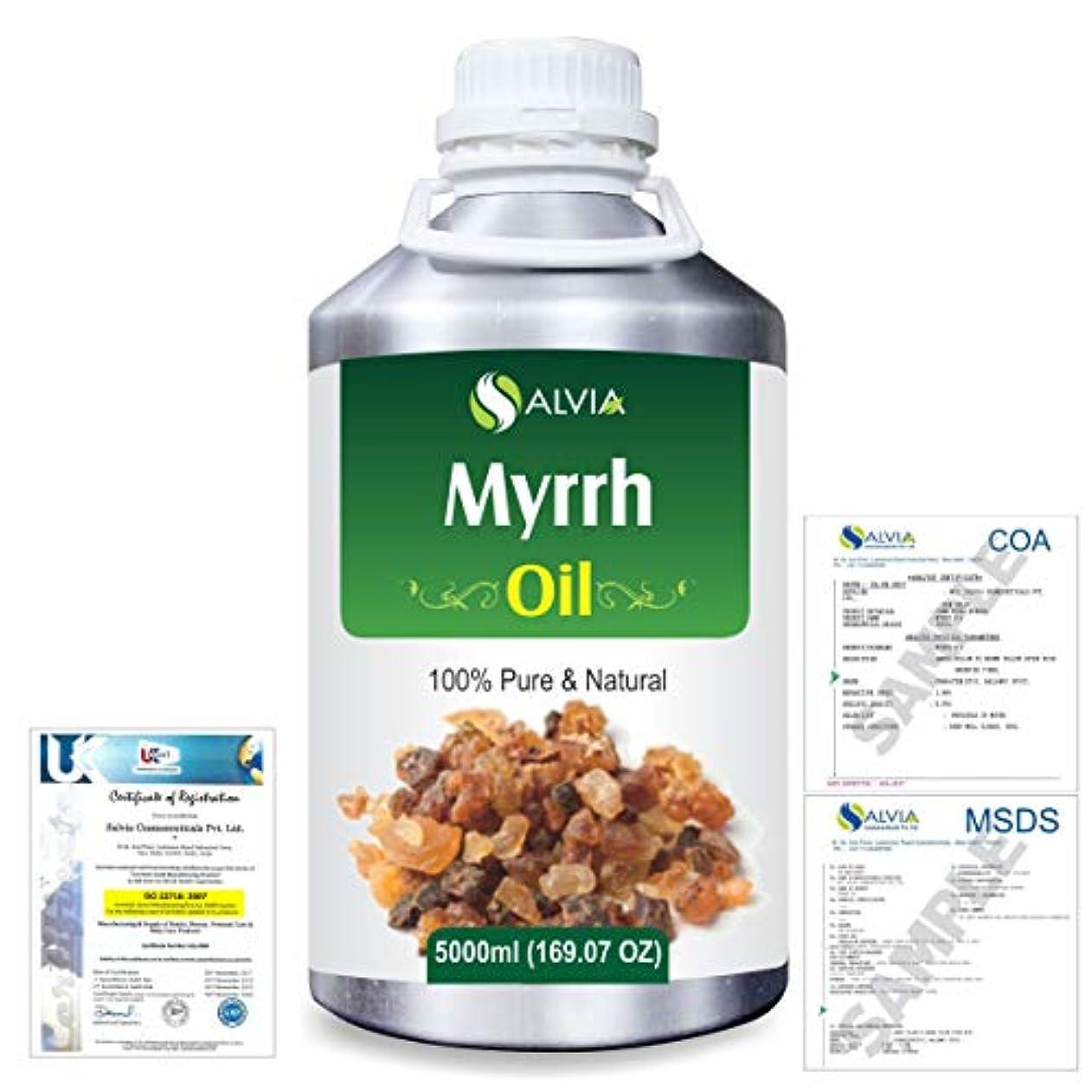 キッチン名誉ある傷つけるMyrrh (commiphora myrrh) 100% Natural Pure Essential Oil 5000ml/169fl.oz.