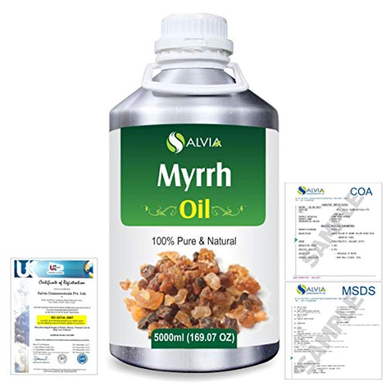 トロピカルフラップスキップMyrrh (commiphora myrrh) 100% Natural Pure Essential Oil 5000ml/169fl.oz.
