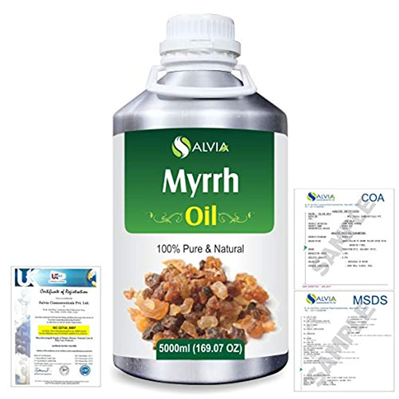 不適切なヒョウ隙間Myrrh (commiphora myrrh) 100% Natural Pure Essential Oil 5000ml/169fl.oz.