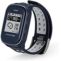 【2018NEWモデル】ゴルフナビ ゴルフGPS 腕時計型 距離測定器 高低差・ゴルフコース自動更新・超軽量38g ファインキャディ(FineCaddie) M500