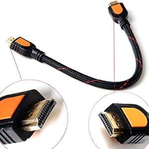 高速 0.3メートル 1.4a HDMIケーブル 1.4V 1080P HD W/イーサネット 3D対応 30cm