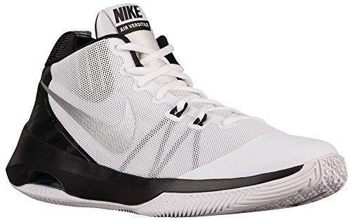 ナイキ Nike Air Versitile - メンズ バスケット White/Metallic Silver/Black/Pure Platinum US08.5 並行輸入品