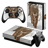 igsticker Xbox One X 専用 スキンシール 正面・天面・底面・コントローラー 全面セット エックスボックス シール 保護 フィルム ステッカー 006779