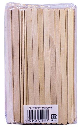 木製 コーヒーマドラー14cm 400本セット 200本入× 2個組