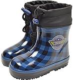 【防寒長靴】WILDTREE ワイルドツリー ベビー防寒長靴 AK154 ブルー 13.0cm