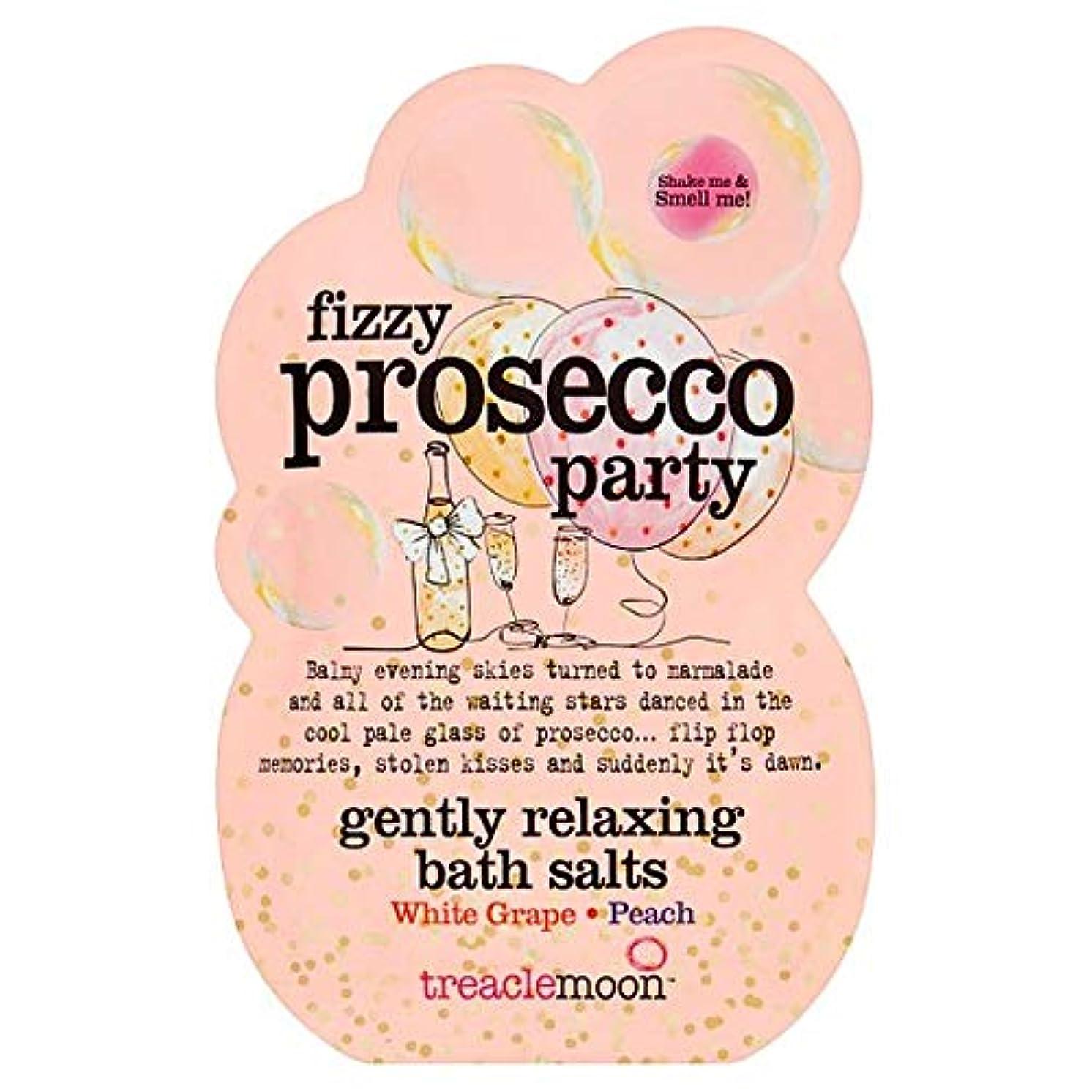 オール識字容量[Treacle Moon] Treaclemoonプロセッコパーティーバスソルトの80グラム - Treaclemoon Prosecco Party Bath Salts 80G [並行輸入品]