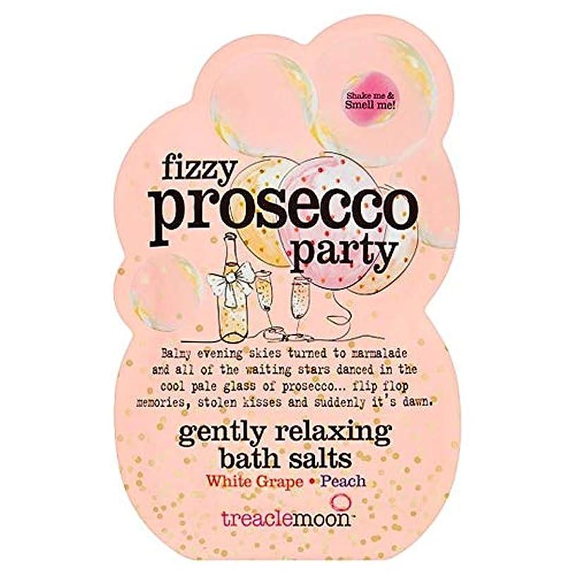牛時小説家[Treacle Moon] Treaclemoonプロセッコパーティーバスソルトの80グラム - Treaclemoon Prosecco Party Bath Salts 80G [並行輸入品]